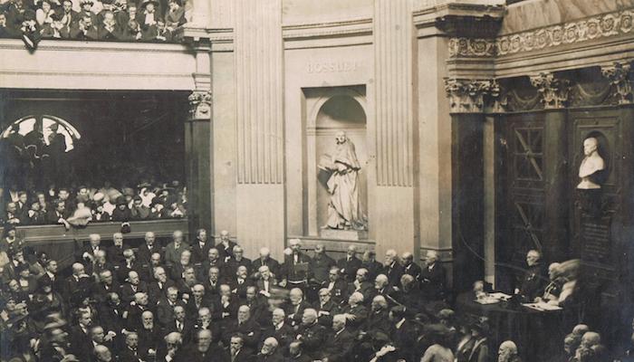 Académie française - réception de Lyautey - 1912